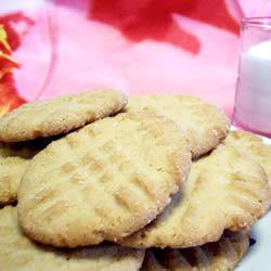 Galletas de cacahuate sin huevo