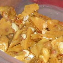 Dulce de cacahuate en el microondas
