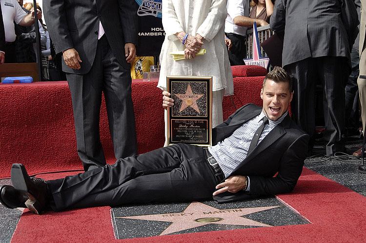 Ricky Martin, Estrella Hollywood