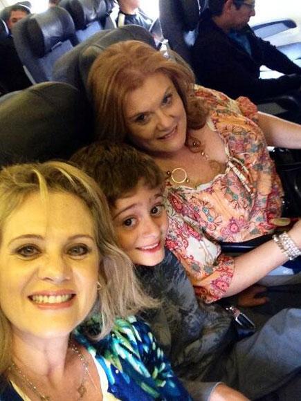 Erika Buenfil, Nicolás, María Martha