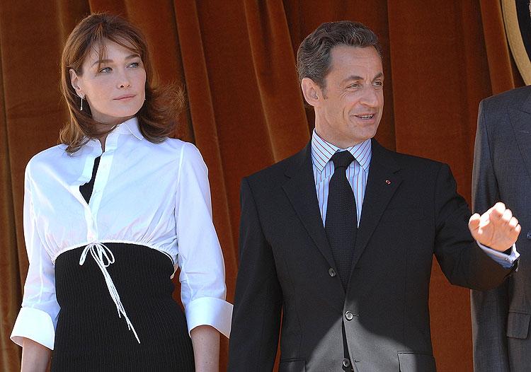 Carla Bruni, Nicolás Sarkozy