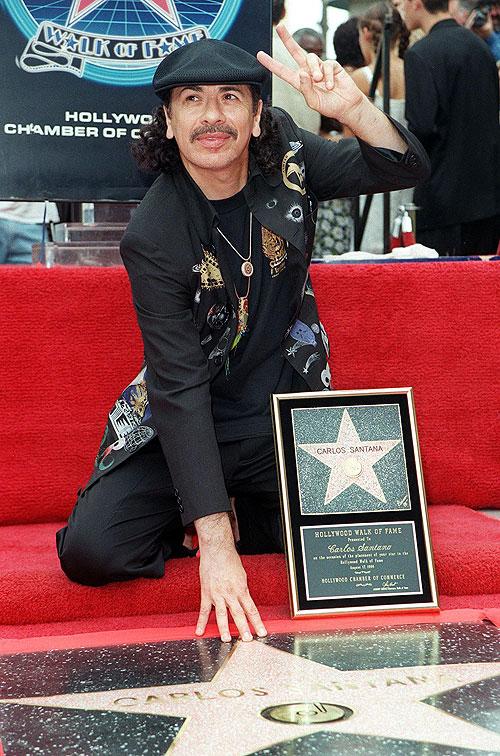 Carlos Santana, Estrella Hollywood