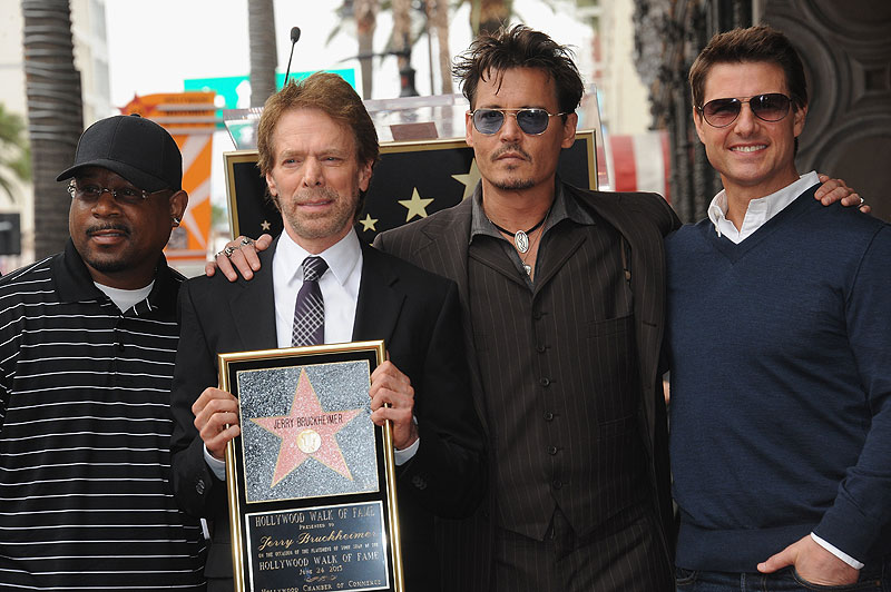 Martin Lawrence, Johnny Depp, Tom Cruise, Jerry Bruckheimer, Míralos