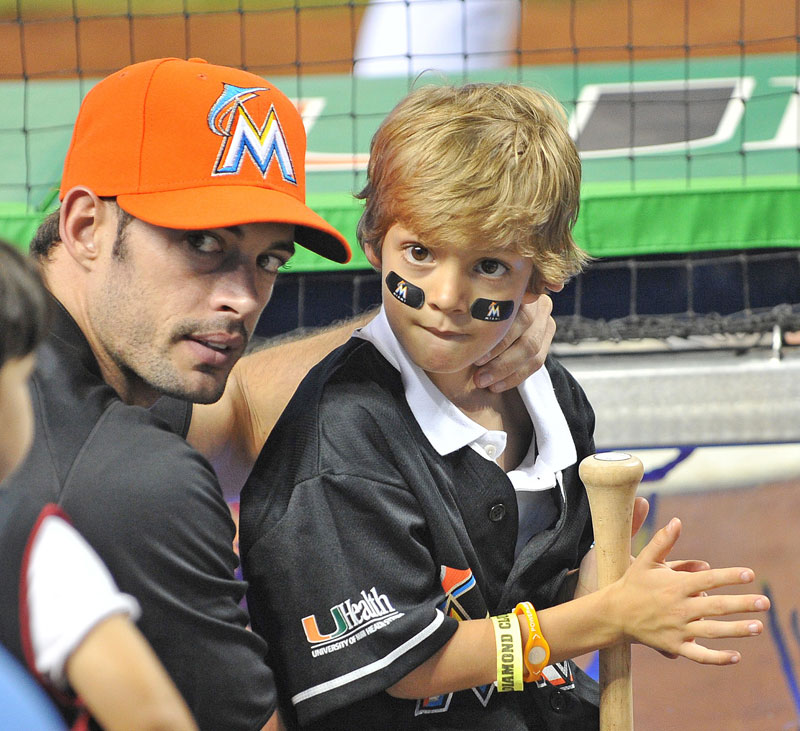 William Levy y su hijo Christopher