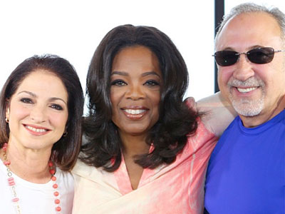 Gloria Estefan, Emilio Estefan, Oprah Winfrey