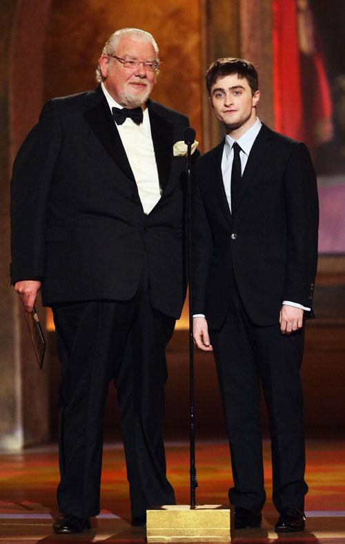 Richard Griffiths, Daniel Radcliffe, muere