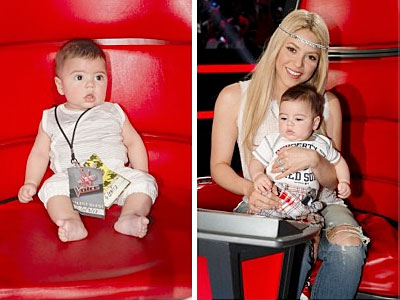 Shakira, Milan, The Voice