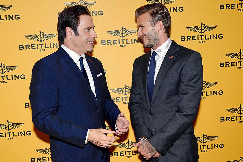 David Beckham, John Travolta, Míralos