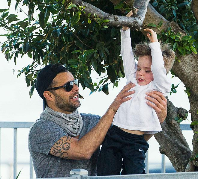 Ricky Martin, Matteo