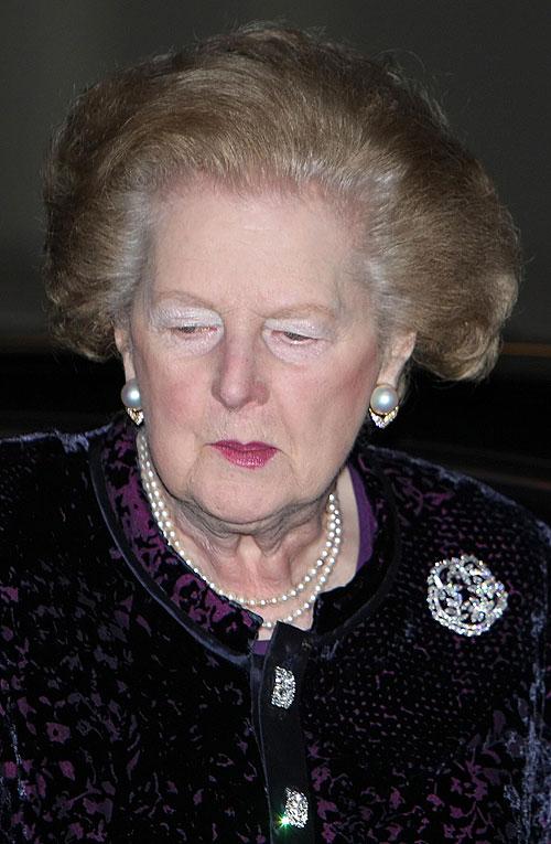 Margaret Thatcher, muerte