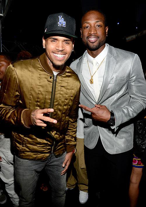 Chris Brown, Dwayne Wade