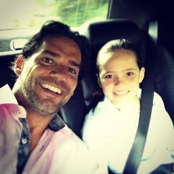 Cristián de la Fuente, hija, Laura