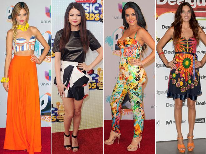 Eiza González, Selena Gómez, Danna García, Adriana Lima