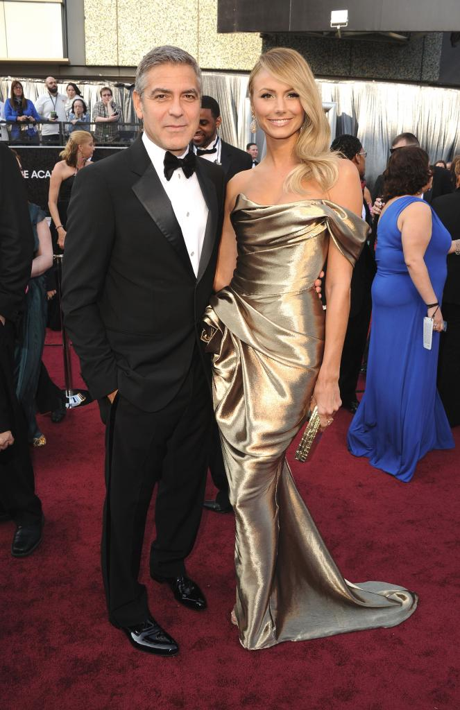 George Clooney, Stacey Keibler