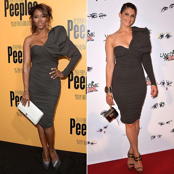 Kenya Moore, Gemma Arterton, Dos mujeres un vestido