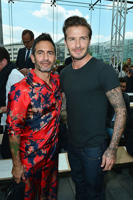 Marc Jacobs y David Beckham