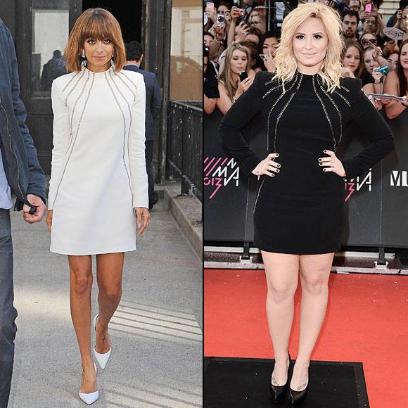 Nicole Richie, Demi Lovato, Dos mujeres
