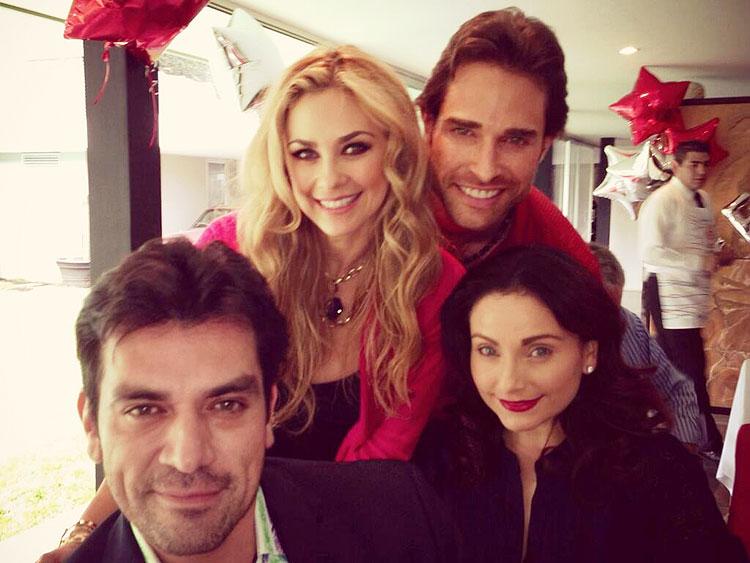 Sebastián Rulli, Aracely Arámbula, Elizabeth Álvarez, Jorge Salinas