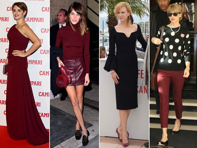 Penélope Cruz, Alexa Chung, Nicole Kidman, Taylor Swift