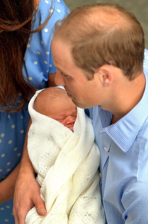 príncipe William, bebé real