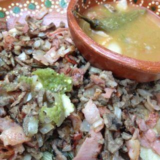 Tacos de cazuela