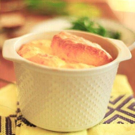Soufflé de queso tradicional