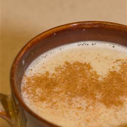 Chocolate blanco caliente y picante