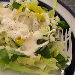 Aderezo de mayonesa fácil