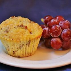 Muffins de huevos con salchicha