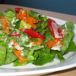 Aderezo toscano para ensaladas