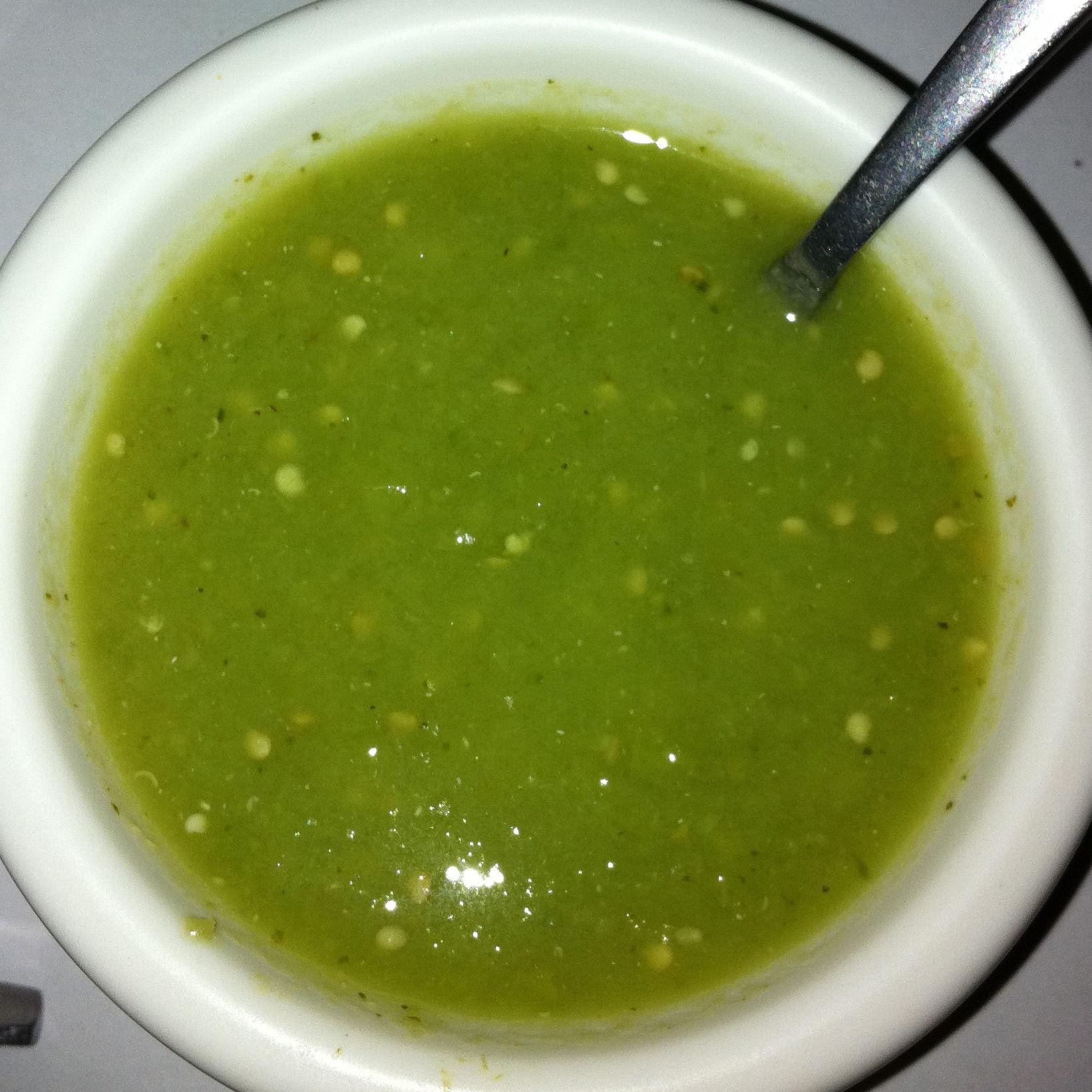 Salsa verde deliciosa