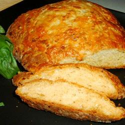 Pan de cebolla y queso