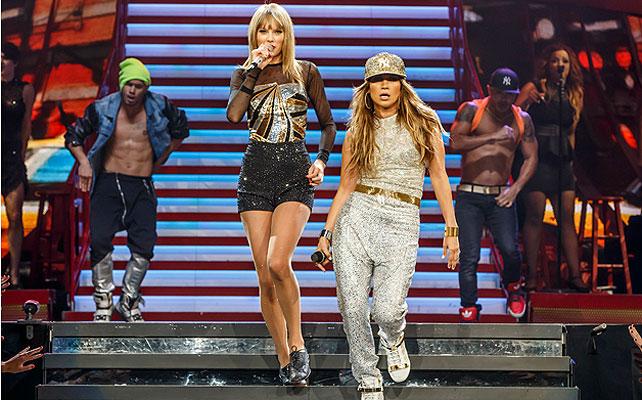 Jennifer López, Taylor Swift, gira Red Tour