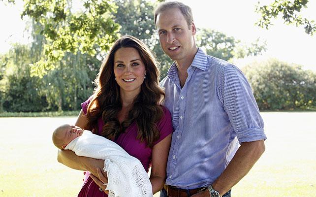 Príncipe William, Kate Middleton, Príncipe George