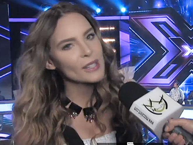 Belinda, El Factor X, foto golpeada