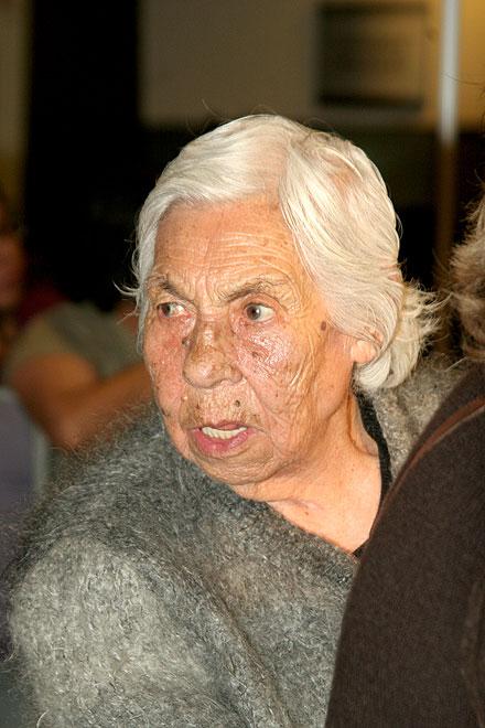Doña Eva Mange, abuela de Thalía