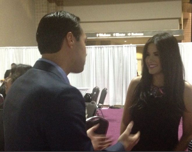 Maite Perroni, Julián Castro, Festival People 2013, Backstage