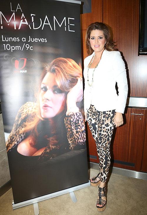 Alicia Machado, El look del día