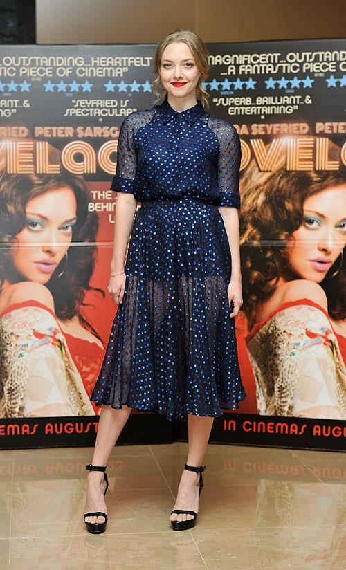 Amanda Seyfried, El look del día