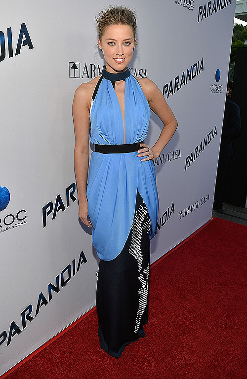 Amber Heard, El look del día