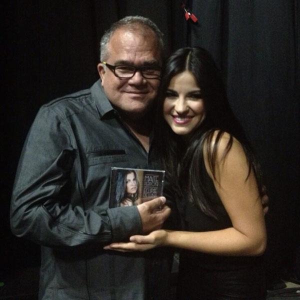 Armando Correa, Maite Perroni, Festival People 2013, Backstage