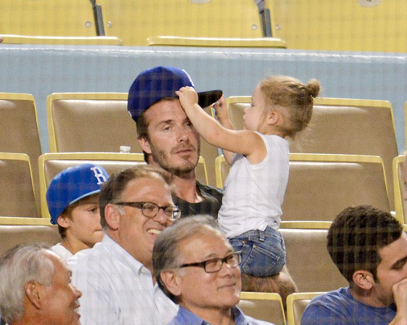 David Beckham, Harper Beckham, Míralos