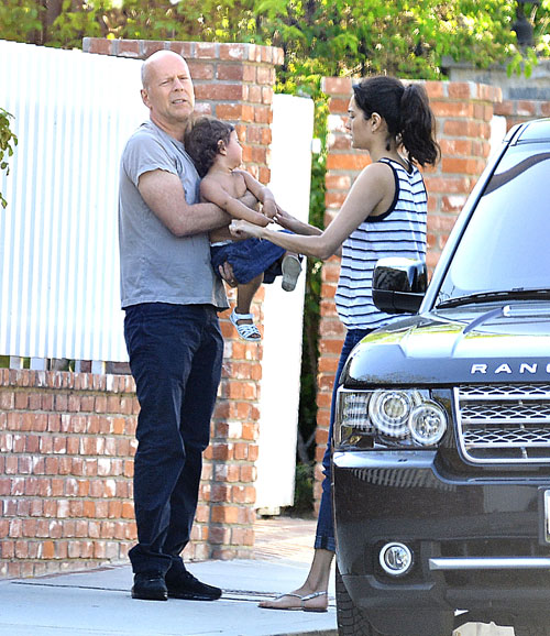 Bruce Willis, Mabel, Emma Heming, Míralos