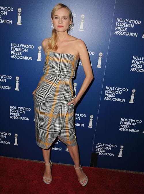 Diane Kruger, El look del día