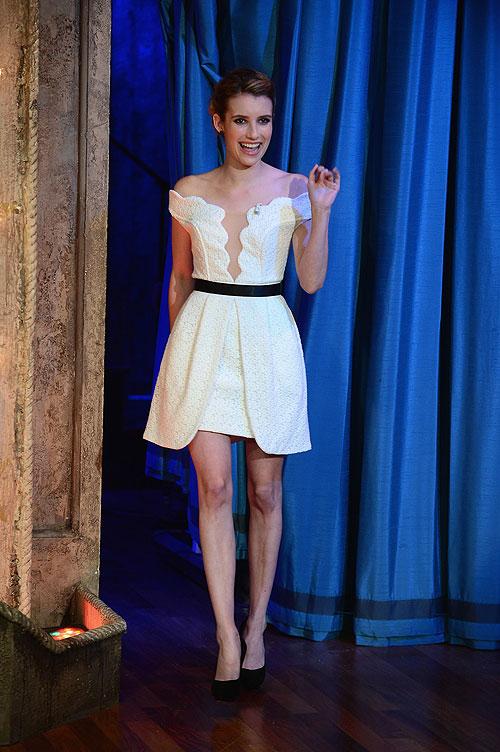 Emma Roberts, El look del día