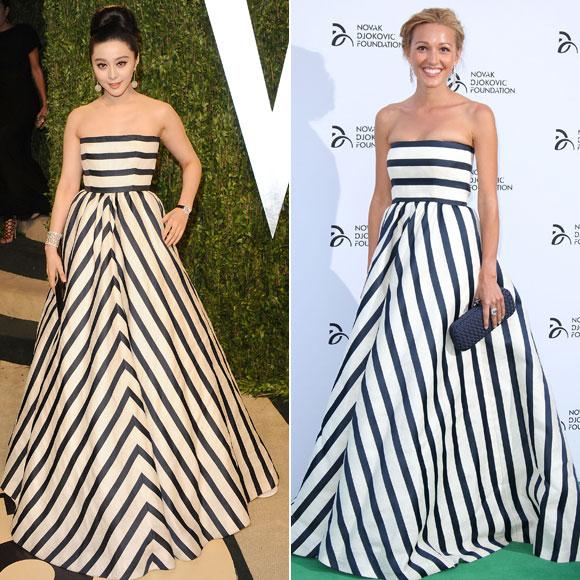 Fan Bingbing, Jelena Ristic, Dos mujeres un vestido