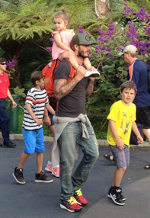David Beckham, Harper, Míralos