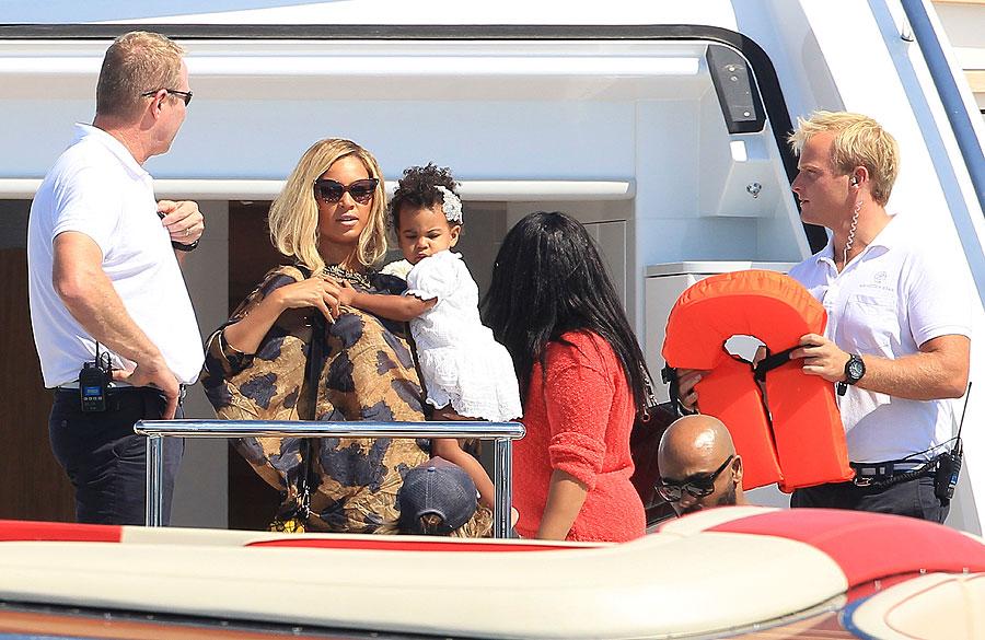 Beyoncé, Blue Ivy Carter, Míralos