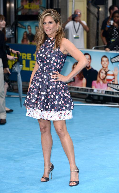 Jennifer Aniston, El look del día
