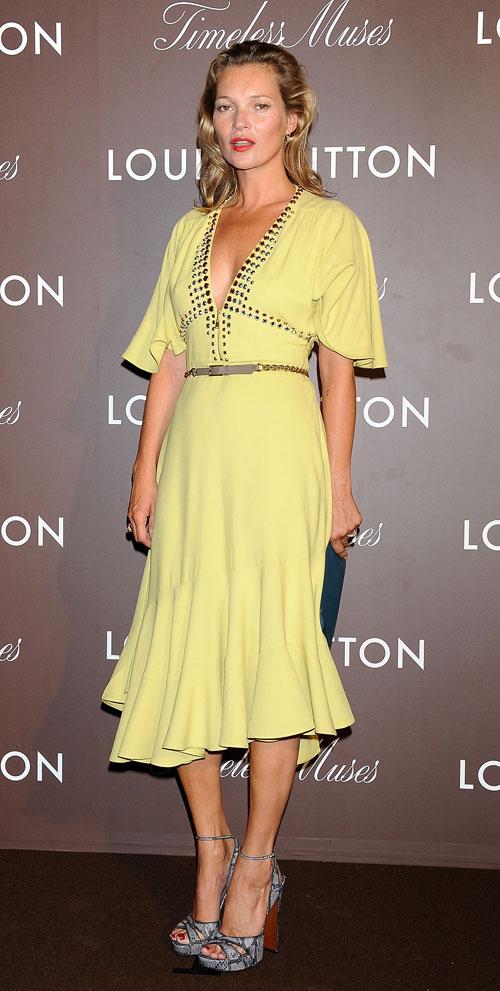 Kate Moss, El look del día
